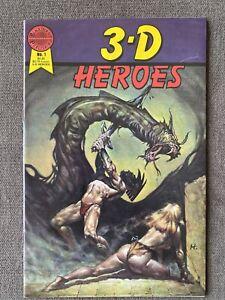 1986 Blackthorne Comics 3-D Heroes Issue #1
