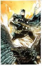 """TONY DANIEL - BATMAN ARMED ART PRINT C2E2 EXCLUSIVE SIGNED 11""""x17"""""""