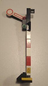 1x Lego City Eisenbahn Signal  Zugsignal  Eigenbau Bahnhof