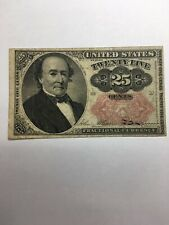 1874 $.25 Fifth Issue Fractional Currency Bank Note
