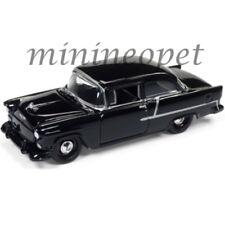 JOHNNY LIGHTNING JLSP005 A 1955 55 CHEVROLET BEL AIR 1/64 DIECAST CAR BLACK