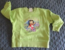 DISNEY Girl  Sz 2T/3T LILO Stitch Kona Hawaii Character SWEATSHIRT Shirt FLAW