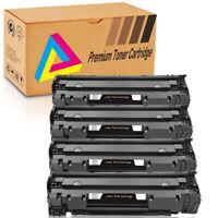 4 High Yield 85A CE285A Black Toner Cartridge For HP LaserJet P1005 P1006 Print