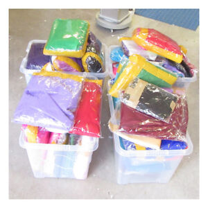 CLEARANCE CRAFT BOX OFF CUTS MATERIAL CHEAP LEFT OVER BARGAIN BUCKET SURPRISE