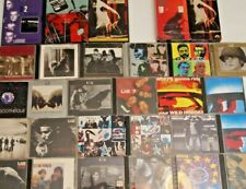 Huge U2 Collection CD / DVD / VHS 29 Items in all!  Bono Compact Discs Rare