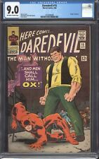 """DAREDEVIL #15 (1966) CGC 9.0 VF/NM / Stan Lee / """"Death"""" of the Ox!"""