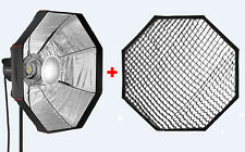 Jinbei BD-120cm Silver Folding Beauty Dish With Grid for Jinbei and Bowens mount