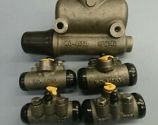 FORD GPW WILLYS MB BRAKE CYLINDER SET (MASTER & WHEEL CYLINDERS) JZ99.1