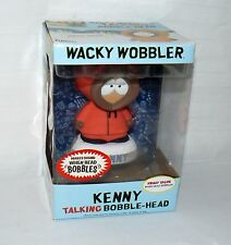 FUNKO WACKY WOBBLER TALKING KENNY BOBBLE HEAD SOUTH PARK CARTOON CHARACTER TOY