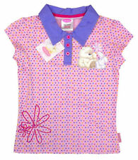 Girls' Spotted 100% Cotton T-Shirts & Tops (2-16 Years)