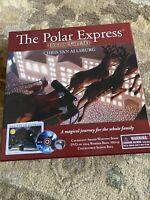 The Polar Express Holiday Gift Set Chris Van-Allsburg Book DVD Sleigh Bell NEW