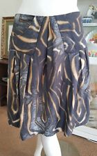 Veronika Maine  skirt. Sz8. Beautiful camouflage pattern.Fully lined