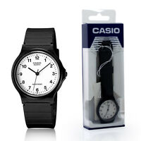 Casio Classic Unisex Analogue RETRO Black with White Face Watch MQ-24-7BLL NEW