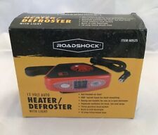 New listing Roadshock Portable 12 Volt Auto Car Heater/Defroster with Light Model 60525