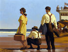 FRAMED CANVAS ART PRINT Giclee THE OUT OF TOWNERS Jack Vettriano painting