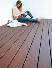 15m² WPC Massiv GERMANY 5m Komplettset Terrassendielen Holz Komplettbausatz
