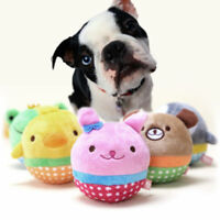 Cute Pet Puppy Chew Squeaker Squeaky Plush Sound Animal Ice Duck Dog Play Toys