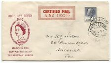 AUSTRALIA / TASMANIA • 1957 FDC with cachet by MAX EASTHER