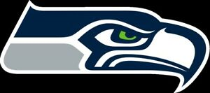 Seattle Seahawks Vinyl Decal / Sticker 10 sizes!! Free Shipping with Tracking!!