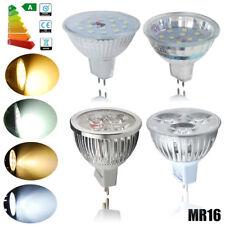 FARETTO FARO LED 3W 4W 5W 6W MR16 GU5.3 LAMPADA LAMPADINA BIANCO FREDDO CALDO