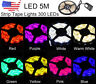 5M Waterproof 3528 SMD 300 LED Strip Rope Lights+ DC Connector+ 12V Power Supply