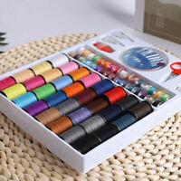 100Pcs/set Sewing Machine Pack Kits Thread Needle Tape Measure Threader Thimble
