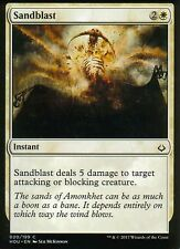 4x sandblast | nm/m | Hour of devastation | Magic mtg