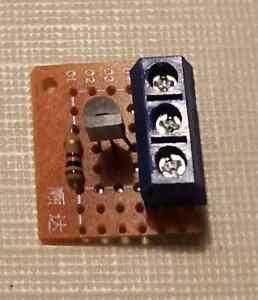 Kleiner GBM Gleisbesetztmelder für alle Spurweiter analog/Gleichspannung