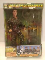 """World Peacekeepers Airborne Trooper 12"""" Poseable Action Figure Soldier New 33581"""