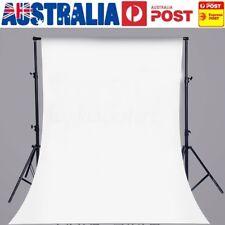 AU 5x7FT White Digital Studio Photography Backdrop Vinyl Photo Background Prop