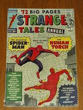 STRANGE TALES ANNUAL #2 VG (4.0) MARVEL SPIDERMAN DITKO JULY 1963 *