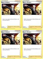 Pokemon Trainer Card Set - Boss's Orders 154/192 - Rebel Clash - Non Holo Cards
