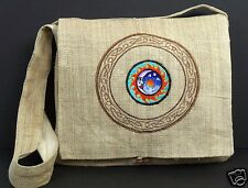 Hemp Purse Moon Patch Celtic Hippie Boho Crossbody Shoulder Bag Eco Friendly New