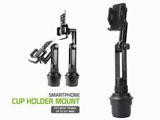 Extended Adjustable Car Cup Holder Cell Mount for Samsung Galaxy S6 Edge Plus