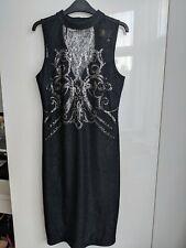 Beautiful Lipsy Kardashian Kollection Dress Black Sparkling Size 12