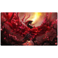 FREE SHIPPING Yugioh Playmat Black Rose Dragon Akiza Playmat CSOC-EN039
