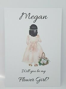Will You Be My Flower Girl Complete with Envelope