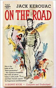 JACK KEROUAC: ON THE ROAD ~ 1st EDITION 1ST PRINTING Signet Paperback ~ Beat Gen
