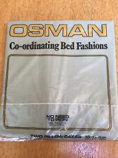 Pair Osman Pillowcases.New.Sage Green.