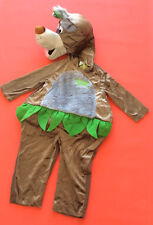 Disney Jungle Book Baloo Costume Boys Girls Book Day Age 2/3 year outfit