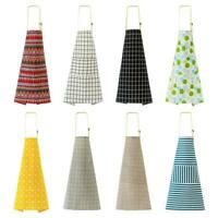 Adjustable Cotton Aprons with Pocket for Kitchen Restaurant Cooking Baking K1B
