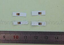 AG Véhicule miniature 1/43 decalcomanie drapeau SUEDE Heco dioarama garage