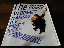 BAY - Mc GREGOR - JOHANSSON - Livret collector PREMIERE !!! THE ISLAND !!!