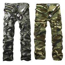 2017 Modèle Homme Pantalons Camouflage Décontractés Cargo Treillis Militaire