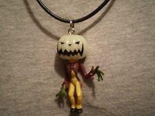 Cool Nightmare Before Christmas Figure Charm Pumpkin Jack Skellington Necklace