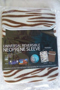 Hype Neoprene  Sleeve /Tablets/Netbook & Notebooks Up To 10.1in Brown Print