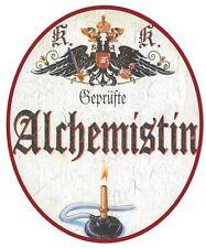 Alchemistin Nostalgieschild