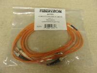 NEW Fibertron FPC MM 62 2F ST ST 3M 807853 Ceramic Zip Fiber Optic 2.0mm ORV