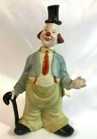 """Ceramic Clown by Artistic Gifts Inc 1986, """"You Are Loved"""" #90620"""