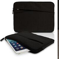 "Tela de Lona Funda Bolsa Sleeve para 10.1"" Tablet Cubierta Bolsillo iPad Samsung"